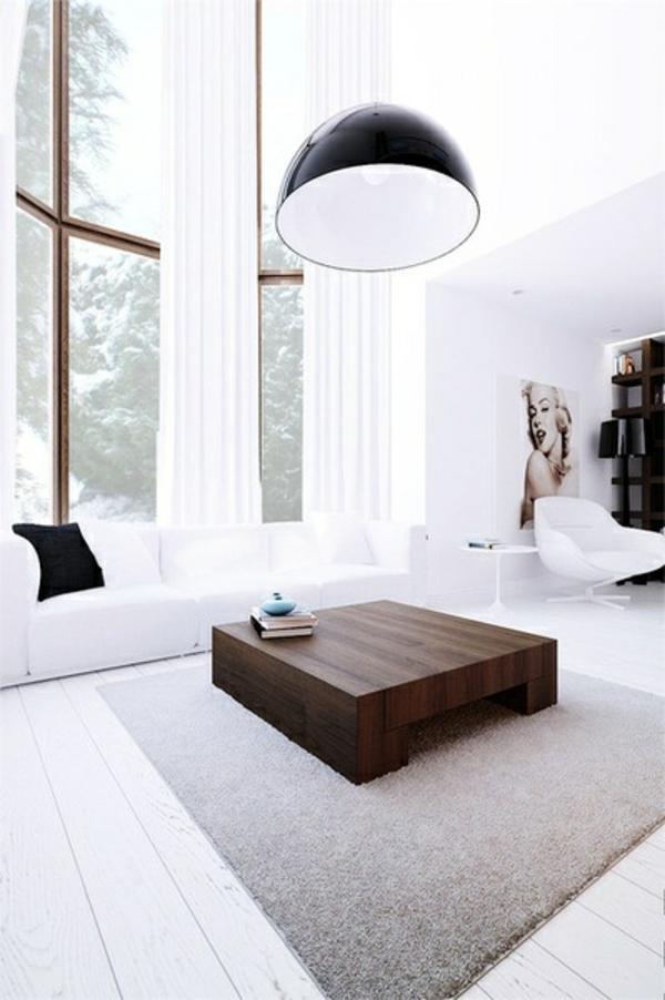 möbel wohnzimmer modern trendy minimalistisch