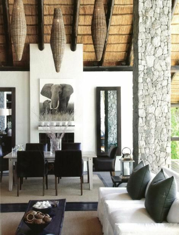 elefanten wohnzimmer möbel modern trendy offen