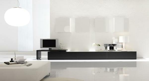 glanz fußboden wohnzimmer möbel modern trendy stehlampe rund