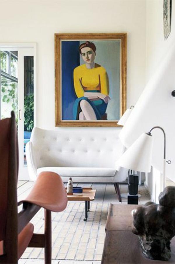 einrichtungsideen möbel modern trendy weiß couch
