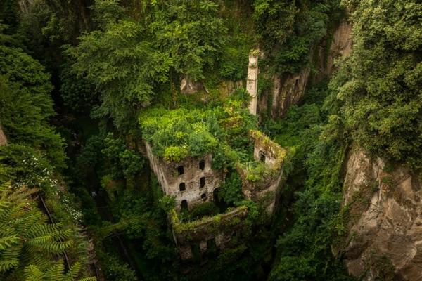 erde und mensch naturbilder burg natürlich begrünt bepflanzung