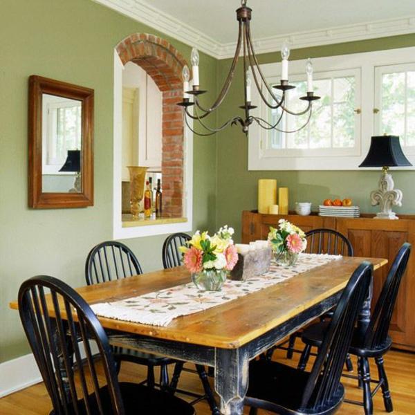 Grune Wandfarbe Deckt Nicht : Grüne Wandfarbe – erreichen Sie dadurch eine trendige