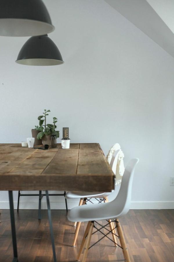esstisch massivholz esszimmertische mit stühlen designer stühle