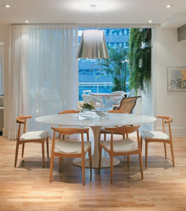 esszimmertisch mit stühlen esstisch rund weiß holzstühle