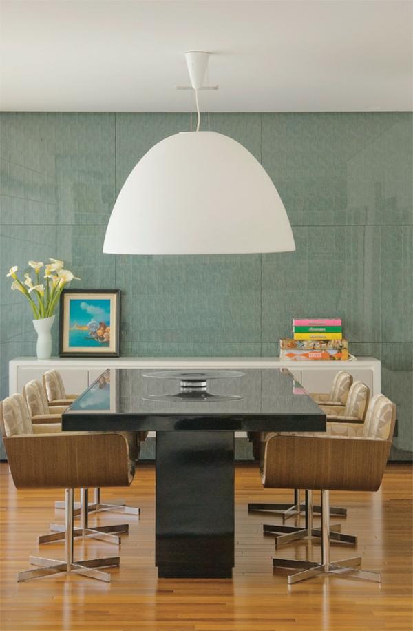 esszimmertisch mit stühlen esstisch schwarz glas polsterstühle holz