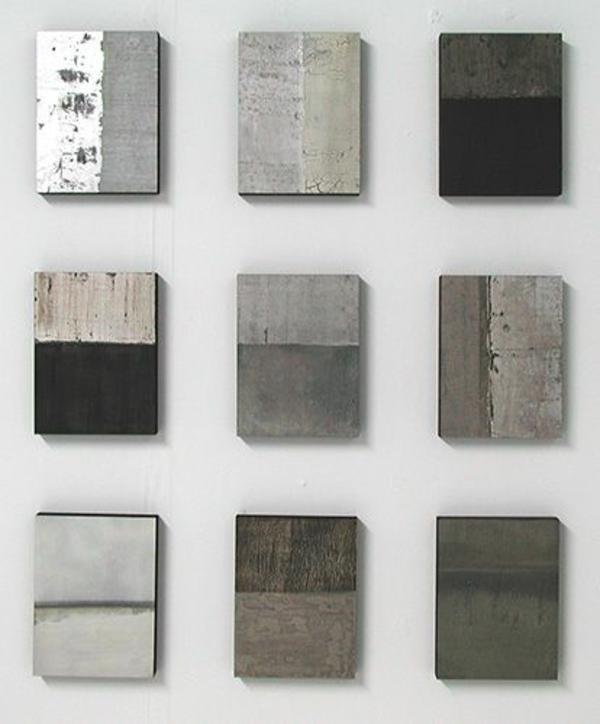 farbe für beton wandfarbe wände streichen betonoptik wandgestaltung