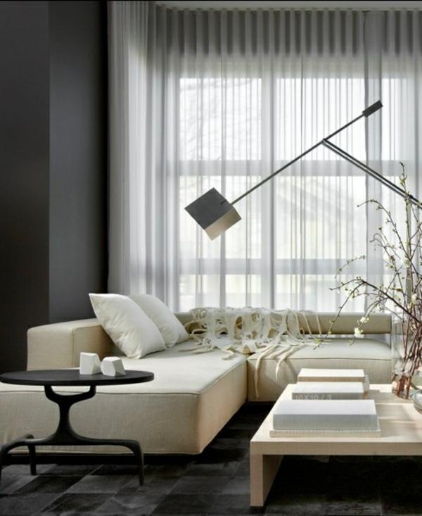 fertiggardinen durchsichtig transparent gardinen ideen moderne vorhänge