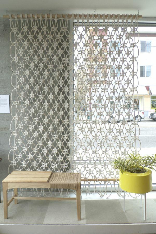 fertiggardinen gardinen ideen moderne vorhänge rattanmöbel schiebegardinen