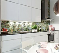 glas küchenrückwand fliesenspiegel | haus design ideen - Glas Küchenrückwand Fliesenspiegel