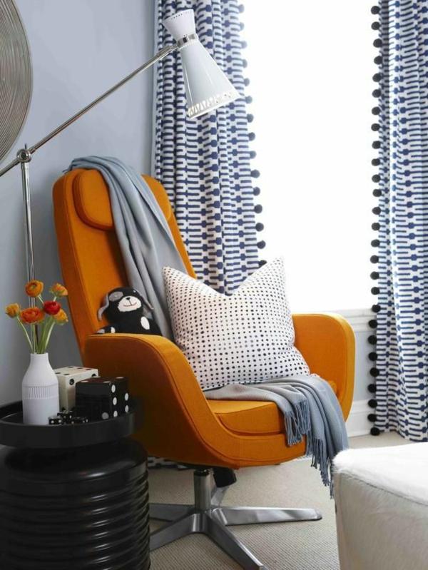 gardinen ideen modern fertiggardinen moderne vorhänge