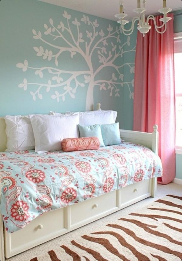 Deko Ideen Schlafzimmer Rosa : Gardinen Rosa – die romantischen ...