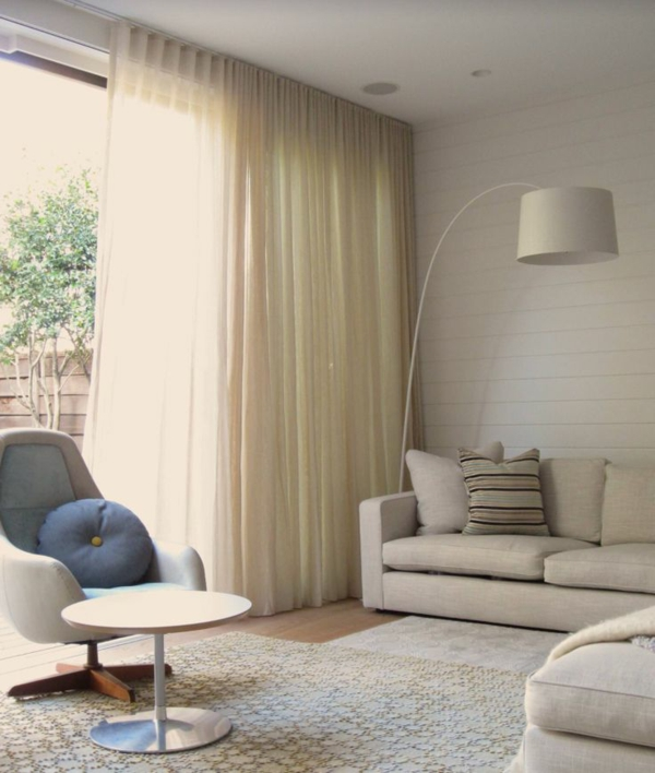 gardinen und vorhänge wohnzimmer fertiggardinen moderne vorhänge