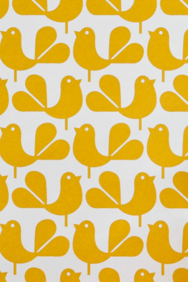 gelbe mustertapeten wandgestaltung ideen mit tapeten gelb tapetenmuster