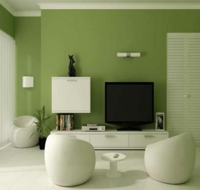 Gr ne wandfarbe erreichen sie dadurch eine trendige inneneinrichtung - Grune bodenfliesen ...