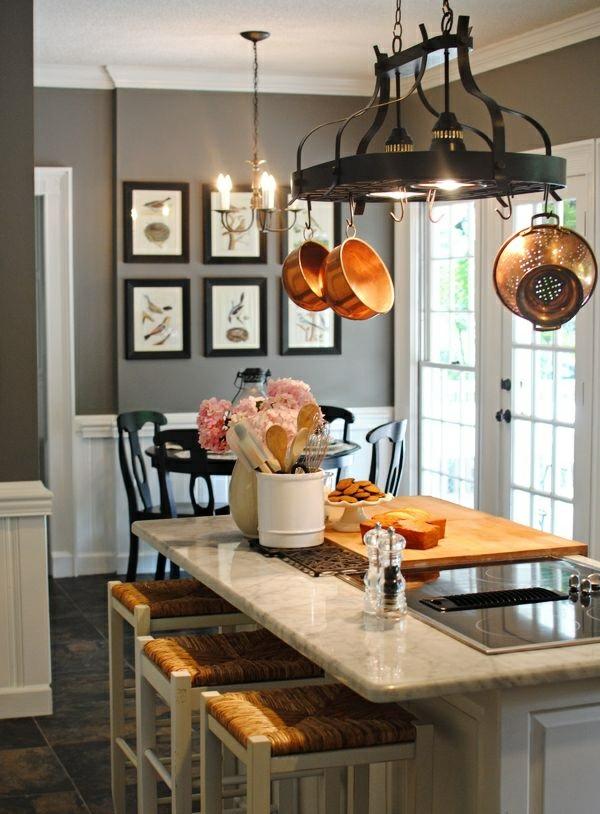 Wandfarbe Grau: 29 Ideen für die perfekte Hintergrundfarbe ...