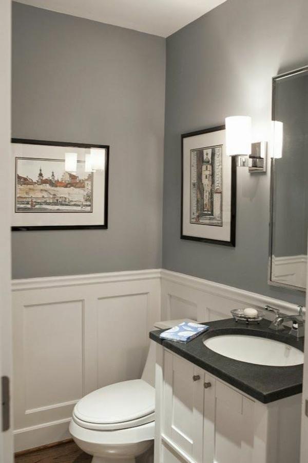 wandfarbe badezimmer: wandfarbe f?r badezimmer moderne vorschl?ge ... - Wandfarbe Für Badezimmer