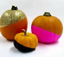 Halloween Deko basteln – Kürbisse attraktiv dekorieren