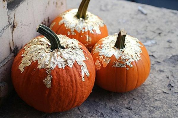 halloween deko kürbisse verzieren