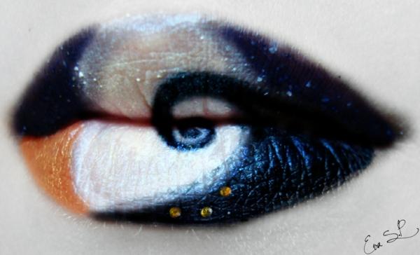 halloween lippen farbig gruselig