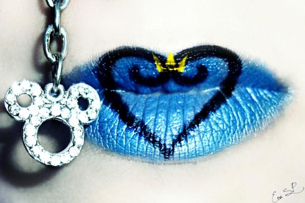 halloween lippen schminken herz