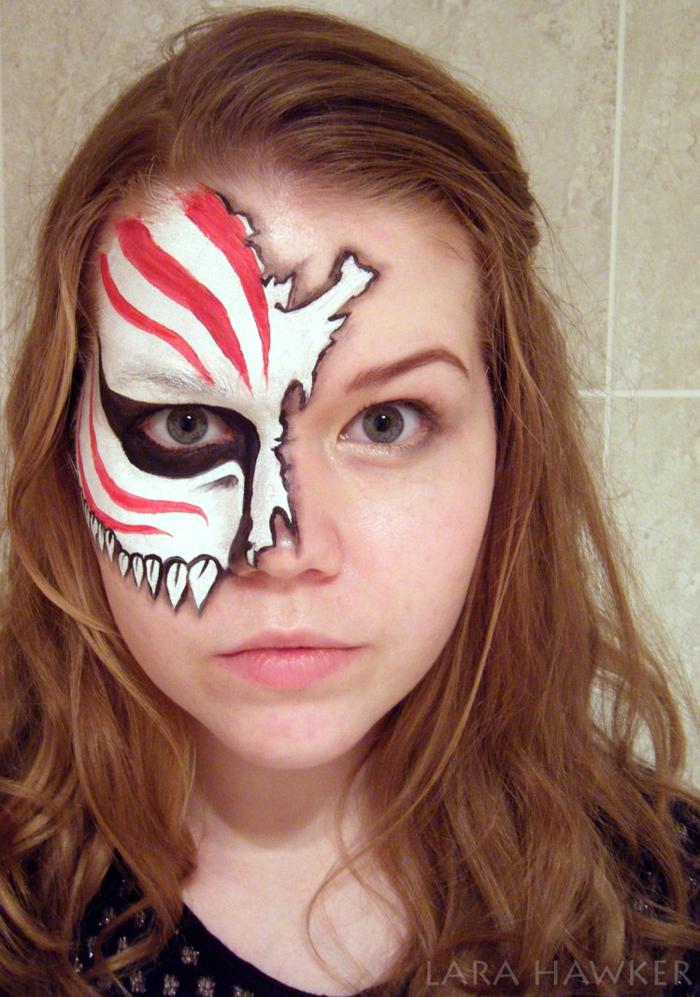 halloween schminke ideen halloween gesicht schminken lara hawker