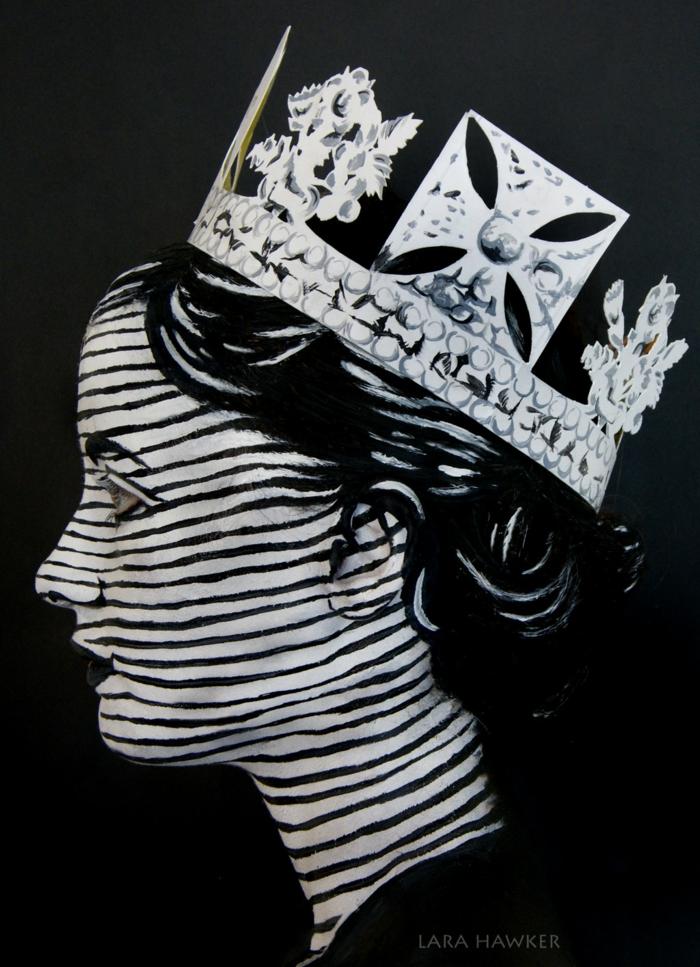 halloween schminke lara hawker halloween gesicht schminken schwarz weiß