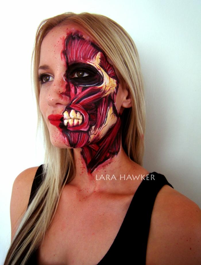 halloween schminke ideen von einer talentierten make up k nstlerin. Black Bedroom Furniture Sets. Home Design Ideas