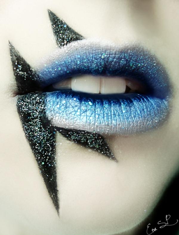halloween schminke lippen gruselig