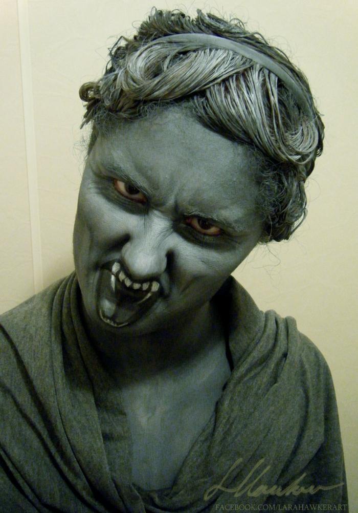 halloween schminke makeup artist lara hawker bodyart und gesicht schminken