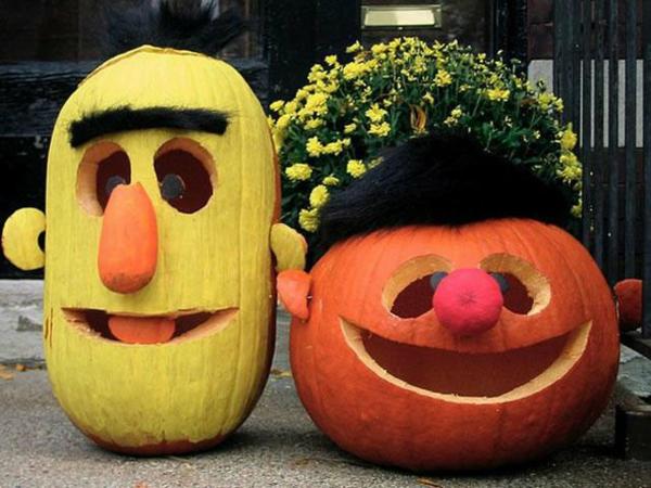 halloween kürbis schnitzvorlagen kürbis gesicht basteln
