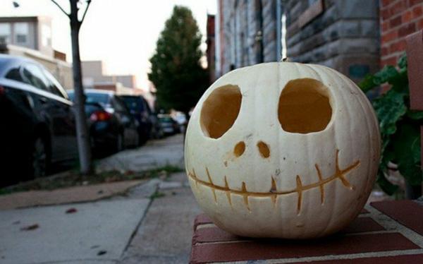 halloween kürbis vorlagen halloween kürbis gesicht ideen