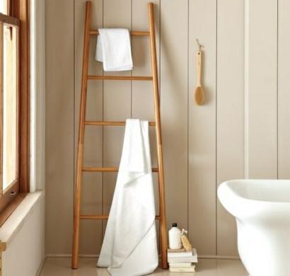 Bambus badm bel sorgen f r eine zen atmosph re im modernen badezimmer - Badezimmer leiter ...