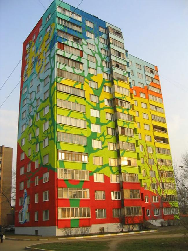 hausfassade streichen hausfassaden farbgestaltung architektur und design wohnblock