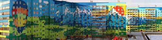 hausfassaden farbgestaltung hausfassade streichen architektur wohnblock stadtviertel