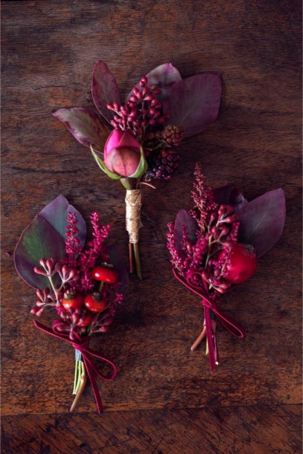 herbst blumen pflanzen arten herbst deko ideen basteln herbstblumenstrauß