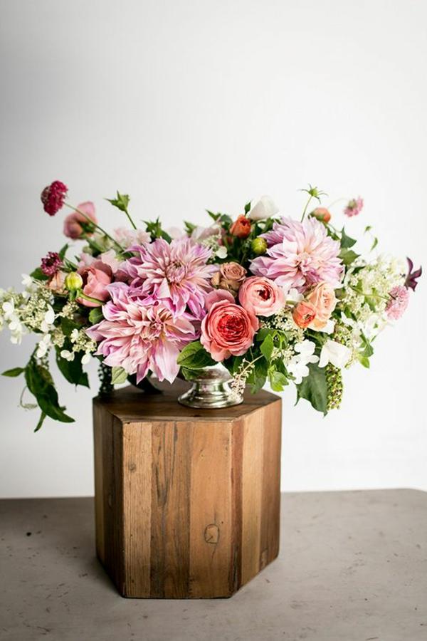 Herbstblumen als haus oder tischdekoration einsetzen for Deko ideen pflanzen