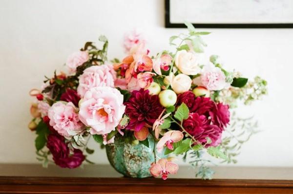 herbstblumen pflanzen arten herbstdeko ideen basteln rosen