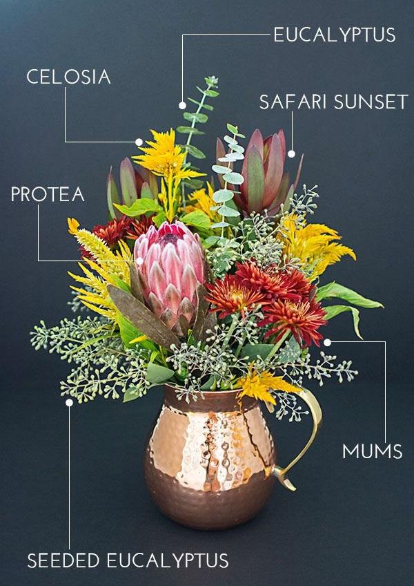 herbstblumen pflanzen herbst tischdeko ideen