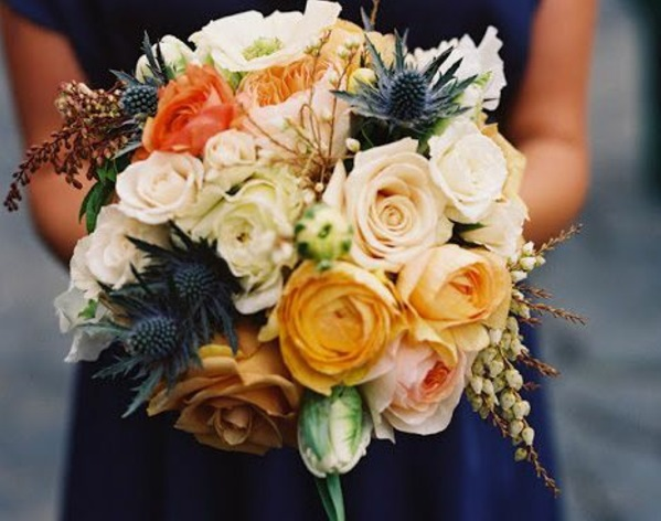 herbstblumen pflanzen herbstdeko herbst blumenstrauß herbstfarben palette