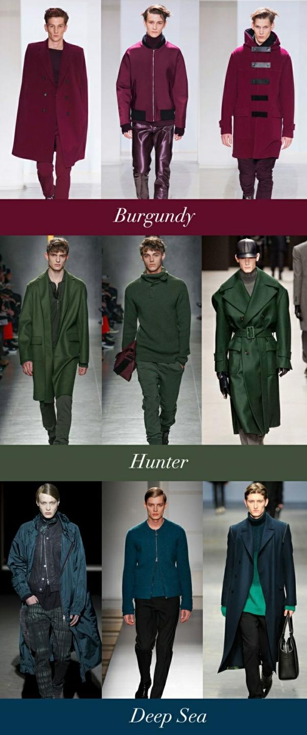 herbsttyp farbpalette trendfarben herbst winter 2014 2015 - Trendwandfarben