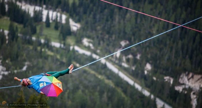 highline meeting festival italienische alpen alpen hängematten extremsport arten