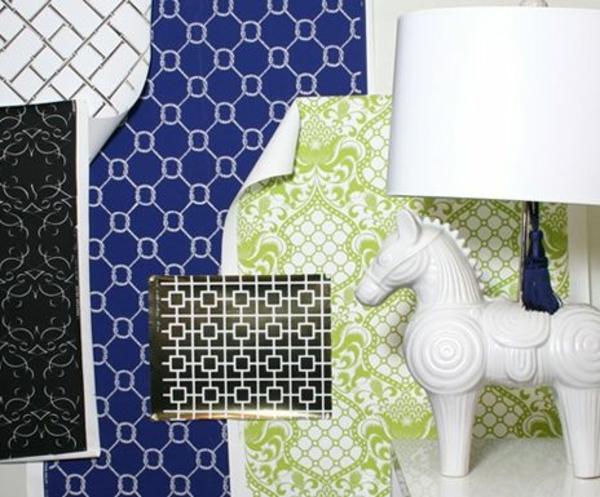 Ideen F?r Tapeten Im Wohnzimmer : Wohnzimmer Wandgestaltung Ideen ? coole Beispiele f?r Tapetenmuster