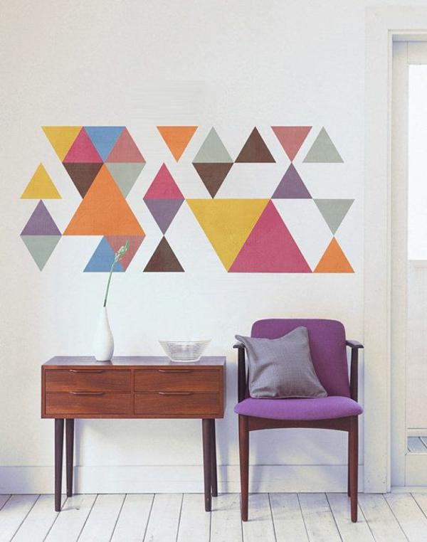Wandgestaltung Quadrate Beispiele_154752 ~ Neuesten Ideen Für Die,  Innenarchitektur Ideen