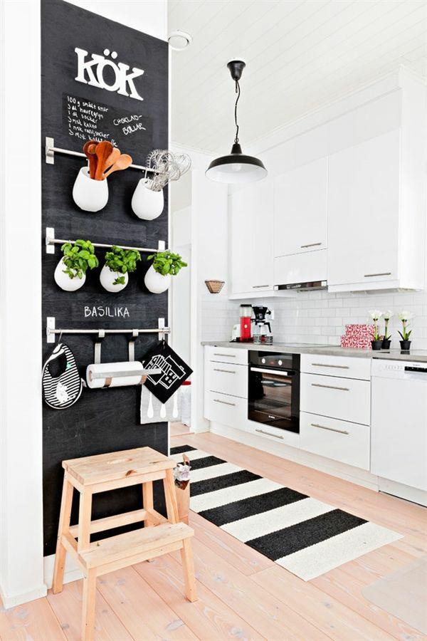 Großartig Ideen Zur Wandgestaltung Küche Kräutergarten Küchenutensilen Küchenzubehör