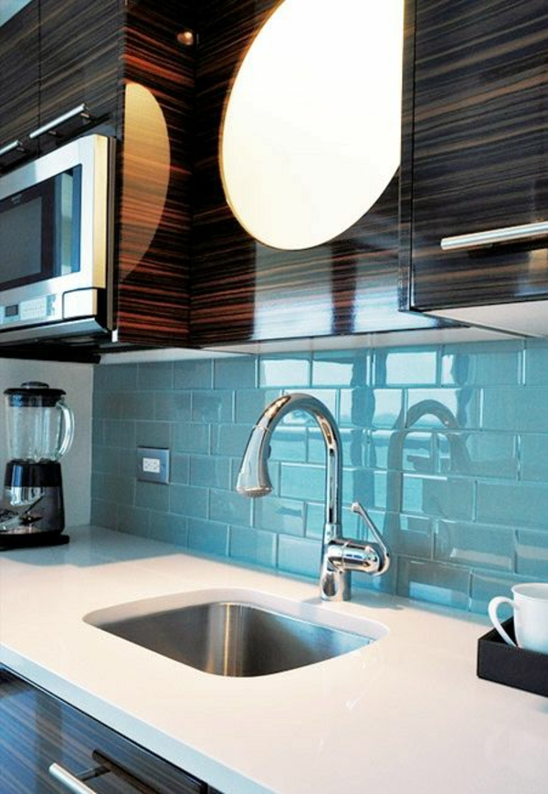 küche fliesenspiegel wandspiegel küche spritzschutz