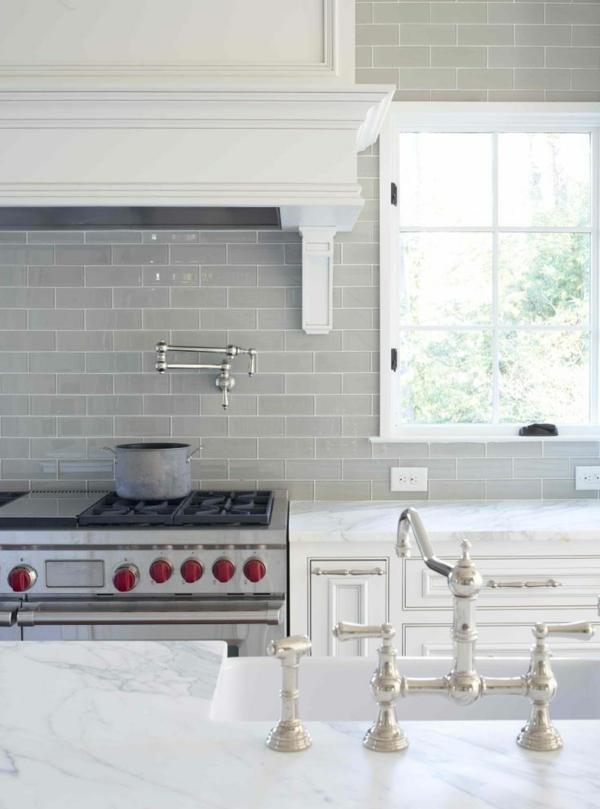 küchenrückwand aus glas fliesenspiegel küche küchenrückwände