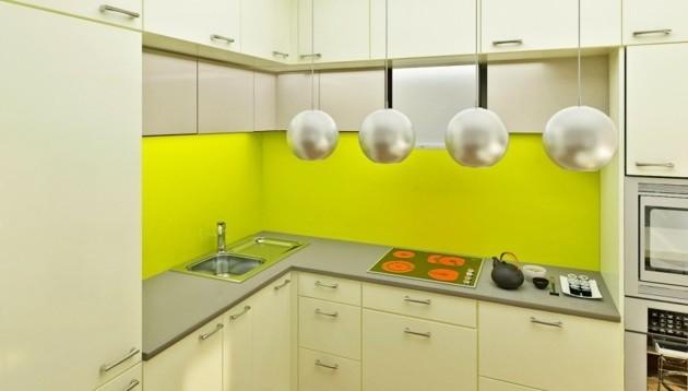 küchenrückwand-plexiglas-fliesenspiegel-silbern-schein