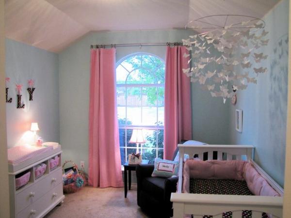 gardinen rosa - die romantischen farbnuancen schlechthin! - Gardinen Kinderzimmer Rosa Grun