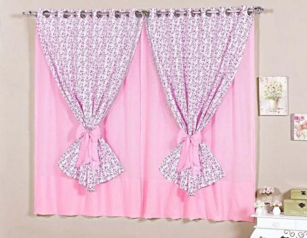 Gardinen rosa die romantischen farbnuancen schlechthin for Gardinenstoff kinder