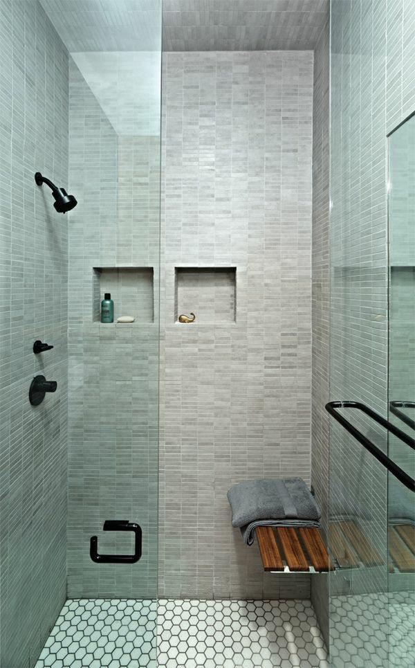 Genial Kleines Badezimmer Einrichten Bodengleiche Dusche Moderne Badezimmer
